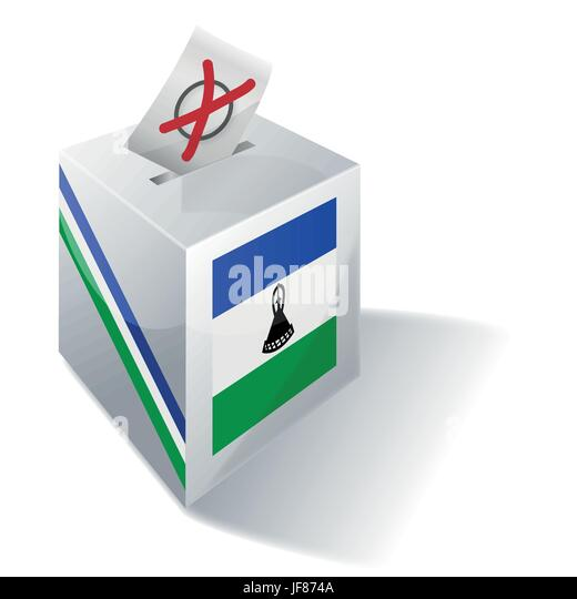 vote, voting, choose, election, choosing, elections, kingdom, lesotho, polling, - Stock Image