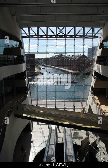 Open Foyer Copenhagen : Bibliotek stock photos images alamy