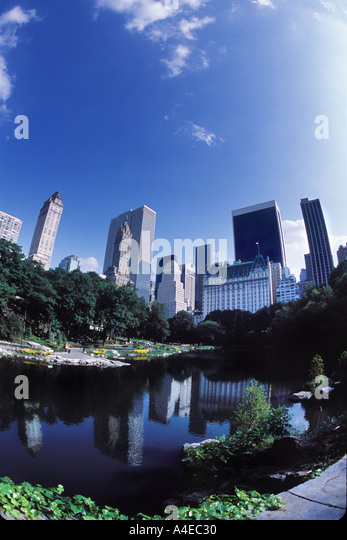 Central Park New York City - Stock Image