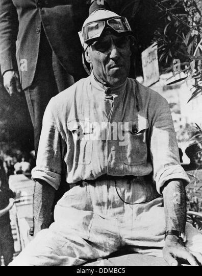 Tazio Nuvolari, 1930s(?). - Stock Image