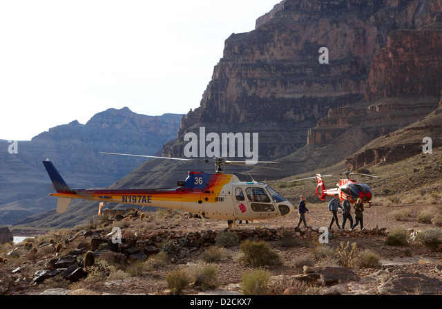 Papillon Helicopter Tours Landed On Stock Photos Amp Papillon Helicopter To