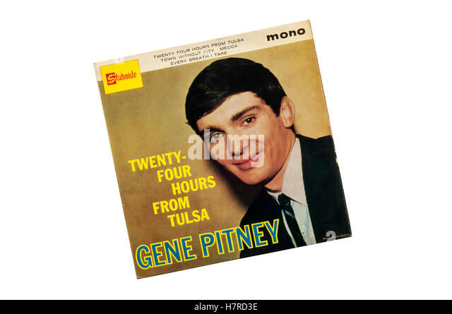 Twenty-Four Hours From Tulsa EP by Gene Pitney released in 1964. - Stock Image