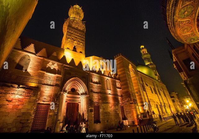 Egypt, Ancient City, Cairo, El Moaz Street. - Stock Image