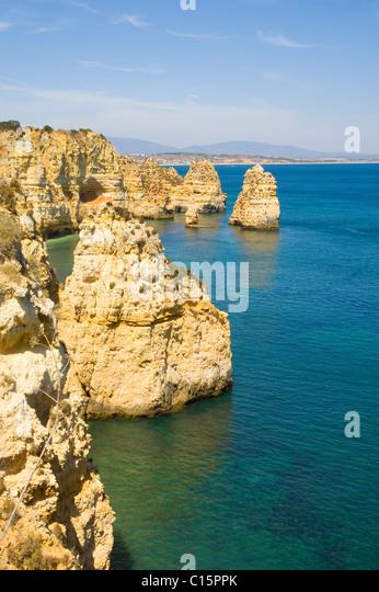 Point of Pity, Ponta da Piedade, Lagos, Algarve, Portugal - Stock Image