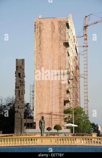 Rafic Harari memorial, Beirut, Lebanon - Stock Image