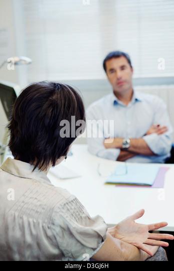 WOMAN PSYCHOLOGY - Stock Image