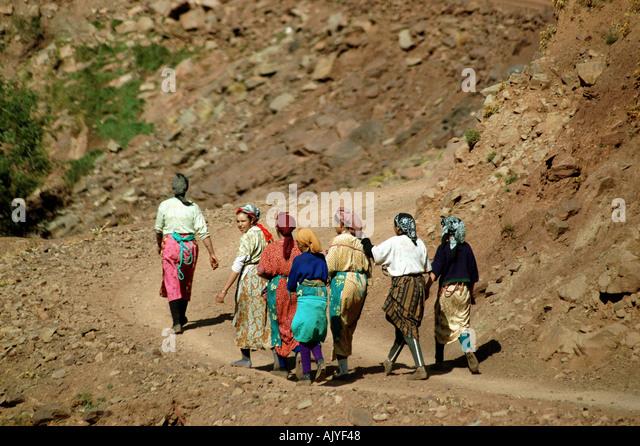 Berber women - Stock Image