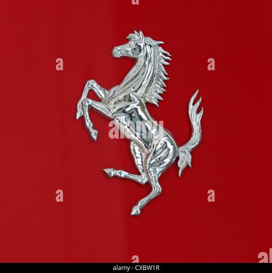 Ferrari Horse Logo Stock Photos Amp Ferrari Horse Logo Stock Images Alamy