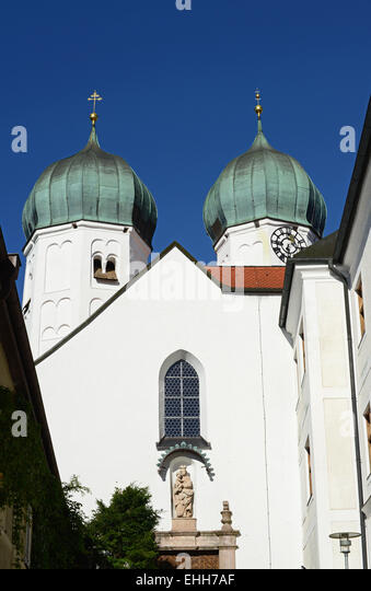Kloster Seeon / Seeon abbey - Stock Image