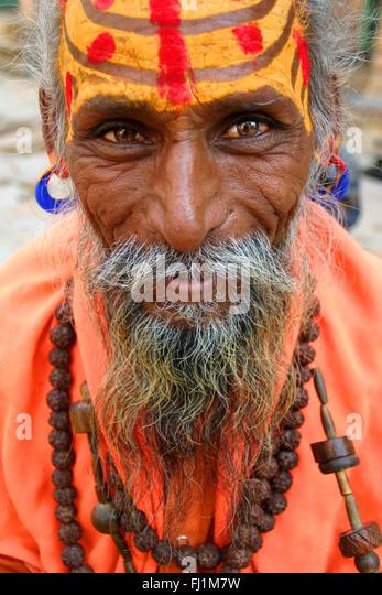 India portrait - Stock Image