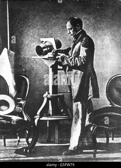 Hippolyte Bayard, 1850 - Stock-Bilder