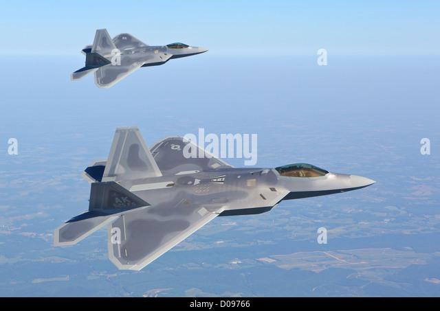 F-22  Raptor - Stock Image