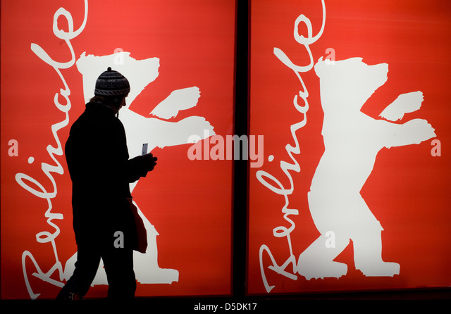 Berlin, Germany, Berlinale visitors - Stock Image