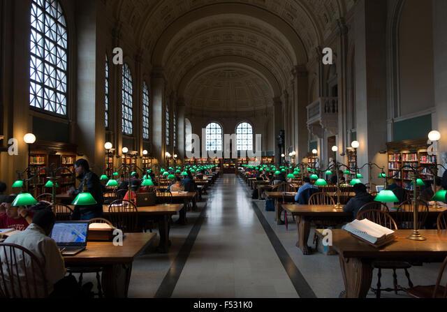 oldest public library boston - Stock-Bilder