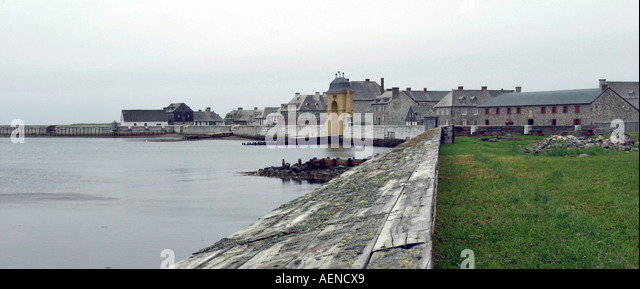 Fortress Louisburg, Nova Scotia, Atlantic Canada - Stock Image
