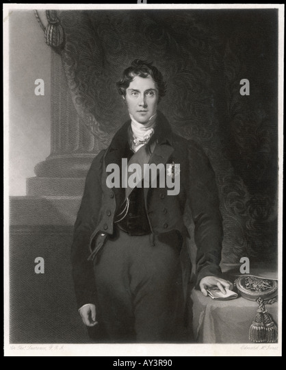 George  Lord Aberdeen - Stock Image