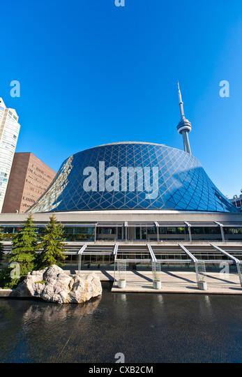 Roy Thompson Hall, Entertainment District, Toronto, Ontario, Canada, North America - Stock-Bilder