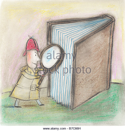 Detective Story - Stock Image