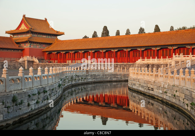 China, Beijing, Palace Museum or Forbidden City - Stock-Bilder