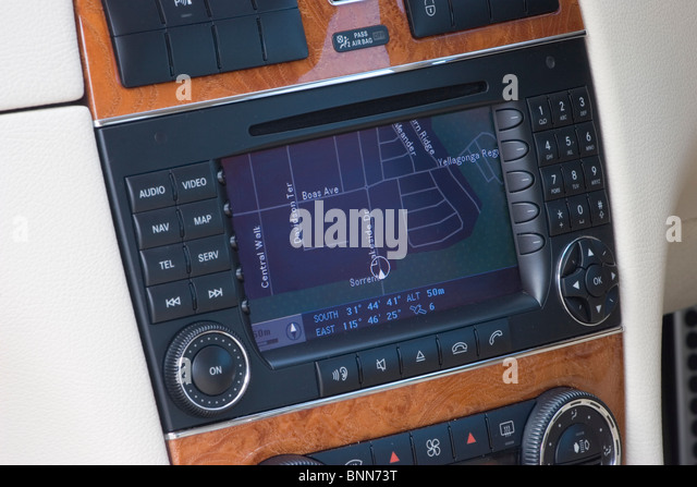 Navigation buttons stock photos navigation buttons stock for Mercedes benz navigation system