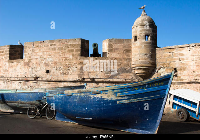 Essaouira Port, Morocco - Stock Image