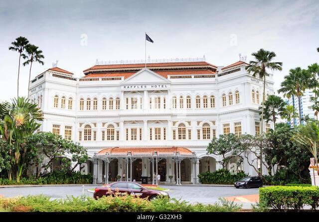 Raffles Hotel, Singapore - Stock Image