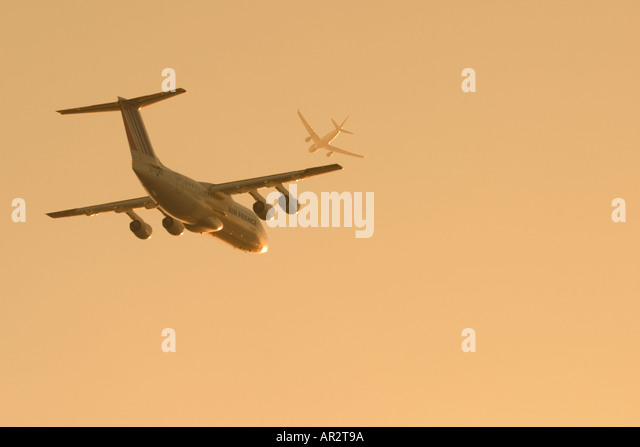 Air traffic - Stock Image
