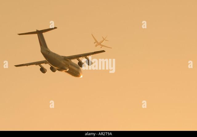 Air traffic - Stock Image