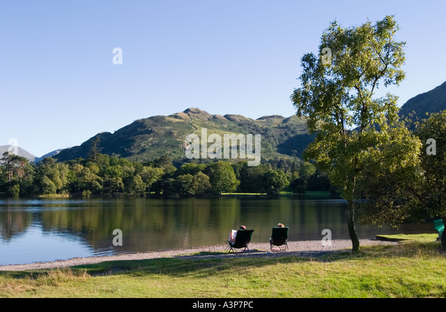 Ulswater Lake District - Stock Image