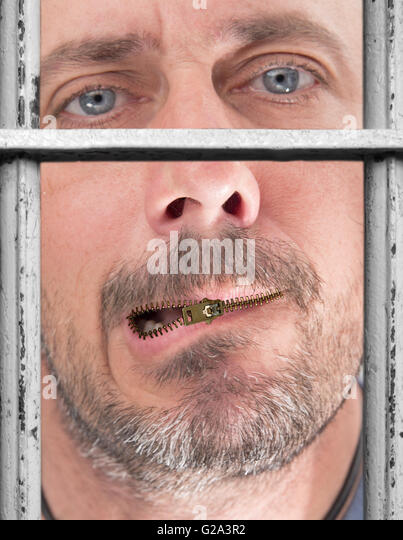 Quiet for life - Stock Image