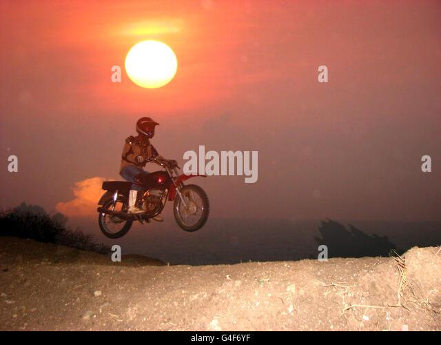 Motocross Ride - Stock Image