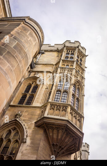 The University city of Cambridge in England founded by Henry VIII - Stock-Bilder