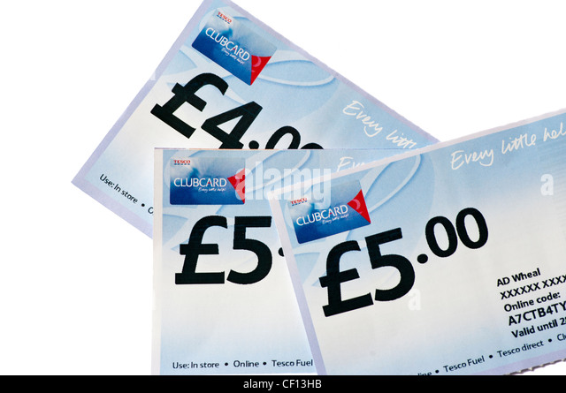 how to get tesco vouchers