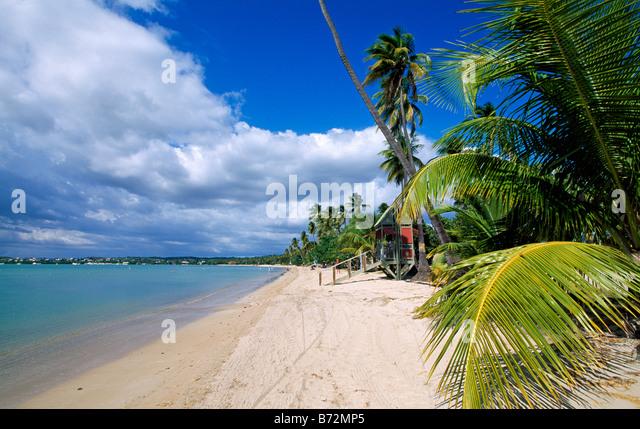 Boqueron Beach Puerto Rico Caribbean - Stock Image