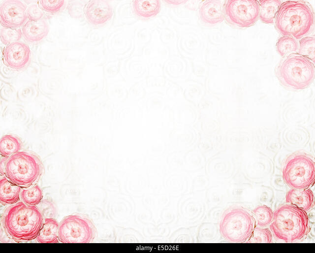 Arrangement. Abstract Festive Floral Background - Stock Image