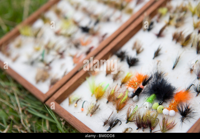 Tackle box stock photos tackle box stock images alamy for Fly fishing supplies near me
