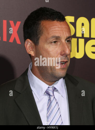 Los Angeles, USA. 6th Apr, 2017. Adam Sandler, the premiere of Netflix's 'Sandy Wexler'. Photo Credit: - Stock-Bilder