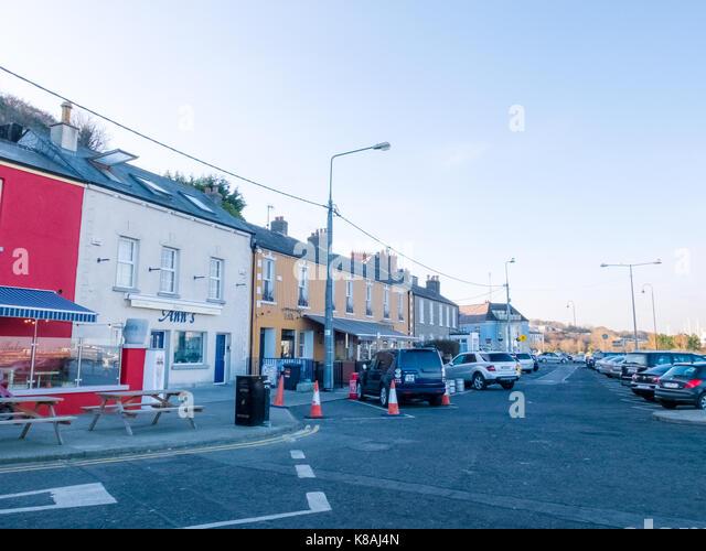 Howth town - Dublin, Ireland - Stock Image