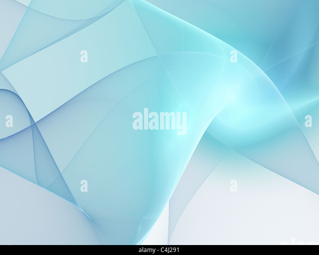 Abstract smooth light lines background - Stock Image
