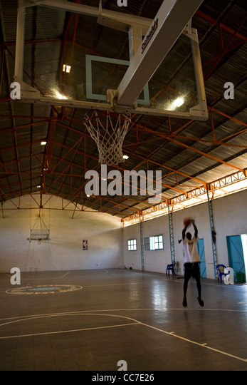BASKETBALL PRACTICE ELEVATE (2011) - Stock Image