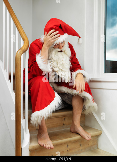Hangover Christmas Stock Photos Amp Hangover Christmas Stock