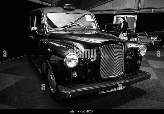 black and white taxi stock photos black and white taxi. Black Bedroom Furniture Sets. Home Design Ideas