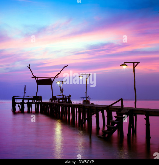 beautiful seascape - Stock Image