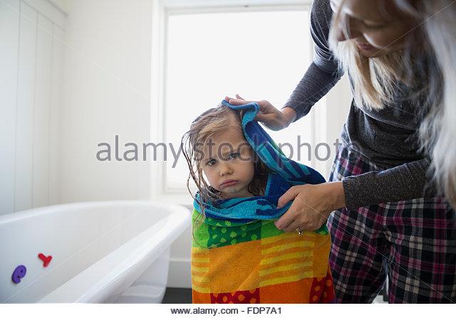 Towel drying stock photos images alamy