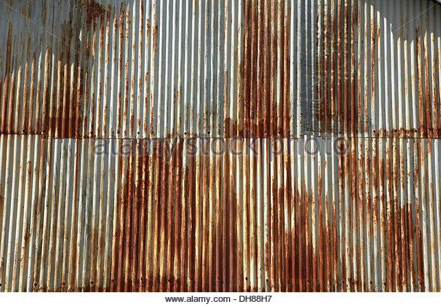 Corrugated Iron Sheet Stock Photos Amp Corrugated Iron Sheet