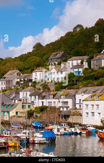 Polperro, Cornwall, England, United Kingdom, Europe - Stock Image