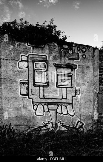 Wall mural. - Stock-Bilder