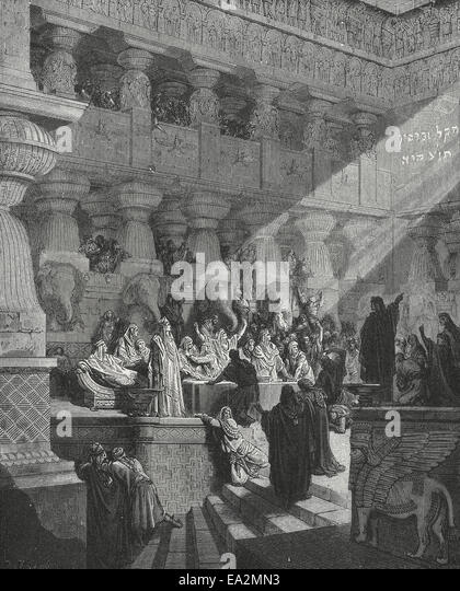 Belshazzar's Feast, the Writing on Your Wall