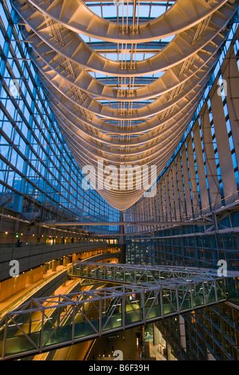 Modern Architecture International Forum Tokyo Japan - Stock Image