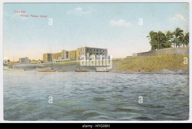 Winter Palace Hotel, Luxor, Egypt - Stock Image